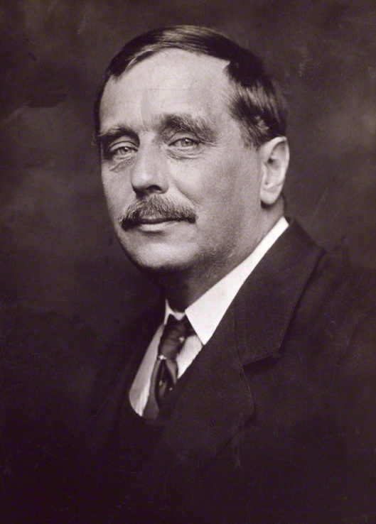 H.G. Wells, probably thinking about aliens, time travel, or...information retrieval?